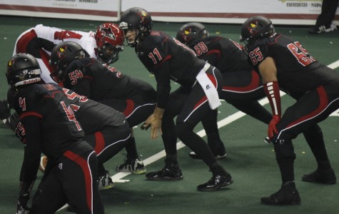 Orlando Predators quarterback Jason Boltus threw for four touchdowns and ran in another two in Sunday's win over the Sharks.