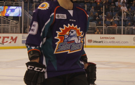Mickey Lang's hat-trick lifts Solar Bears one step closer to playoffs