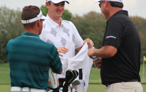 Justin Rose (middle) is currently ranked sixth in the world rankings, and placed second last year at the Arnold Palmer Invitational.