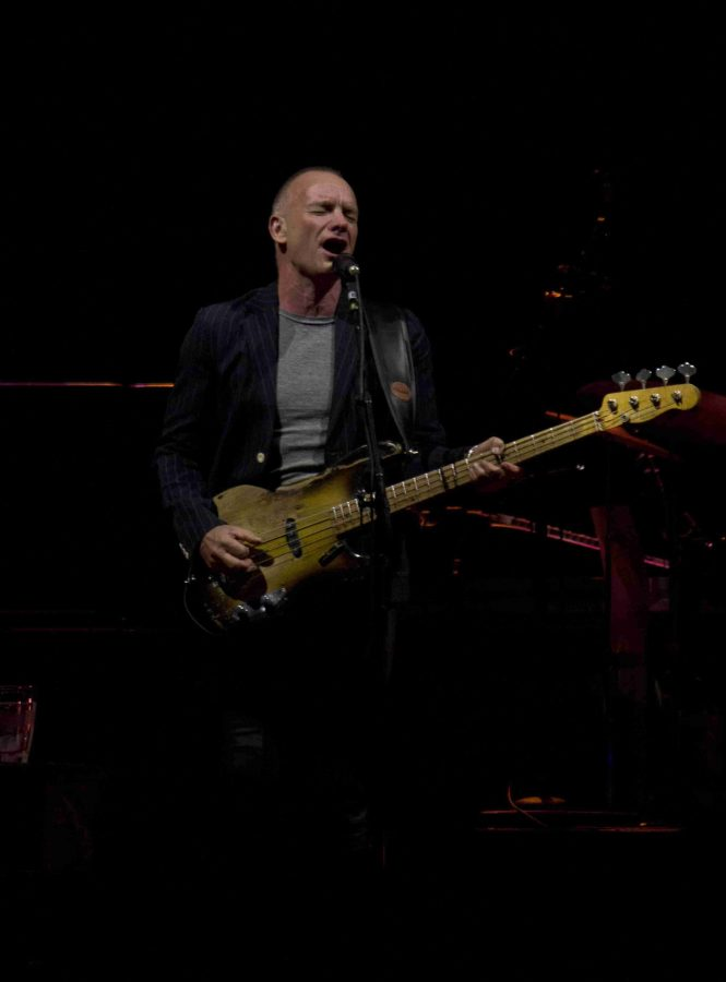Sting at Amway Center in Orlando, Fla. on March 16, 2014. (Ty Wright / Valencia Voice)