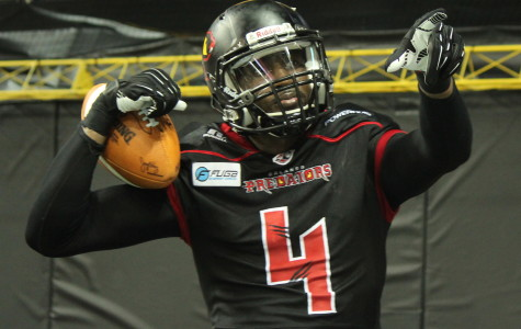 Greg Carr scored five touchdowns in the Predators 63-48 win over the  New Orleans Voodoo.