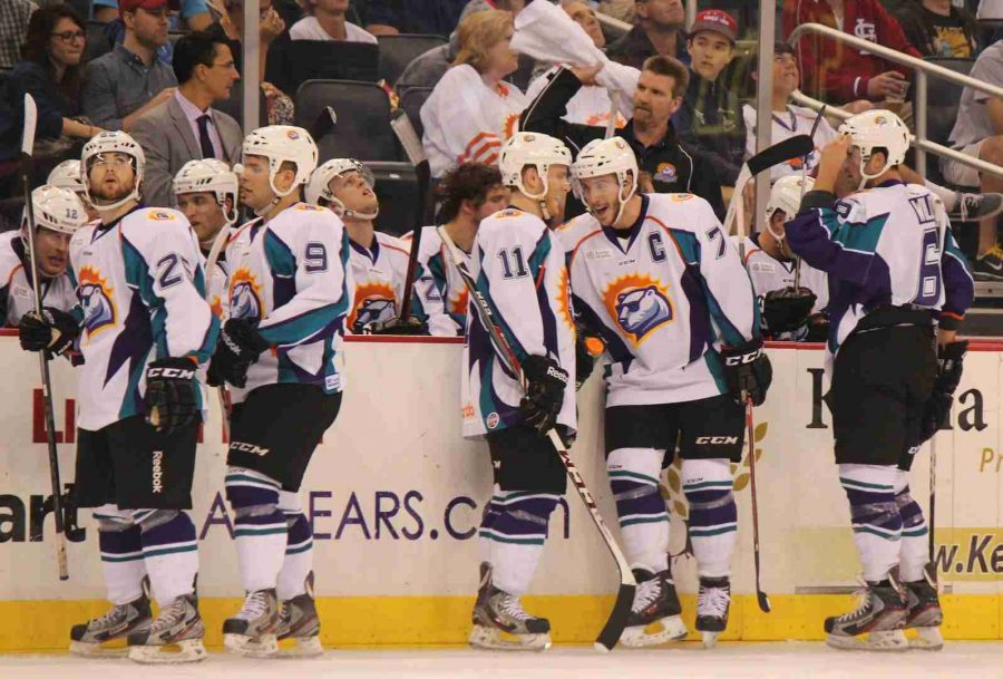 The+Solar+Bears+will+be+going+to+the+playoffs+for+the+first+time+as+an+ECHL+franchise.