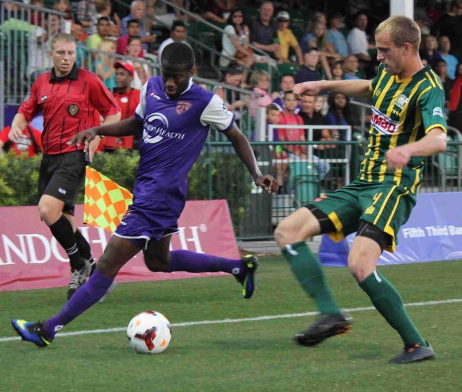 Kevin Molino scored his first goal of the season during Orlando City's 3-1 win over Rochester.