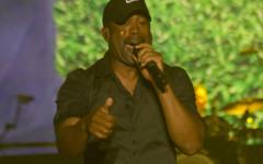 Darius Rucker performing at the