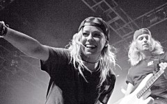 Tonight Alive performing at the House of Blues, in Orlando Fla., on April 27, 2014. (Danny Morales / Valencia Voice)