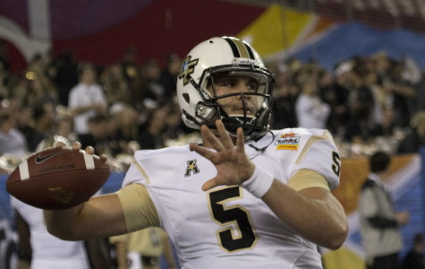 Blake Bortles led UCF to their first-ever BCS bowl win last season with a 52-42 win over Baylor in the Fiesta Bowl.