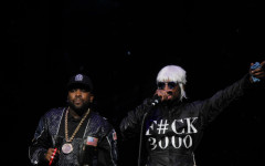 Outkast performing at Day 1 of the Big Guava Festival in Tampa, at the  MidFlorida Amphitheater at the Florida State Fairgrounds, on May 2, 2014. (Ty Wright / Valencia Voice)