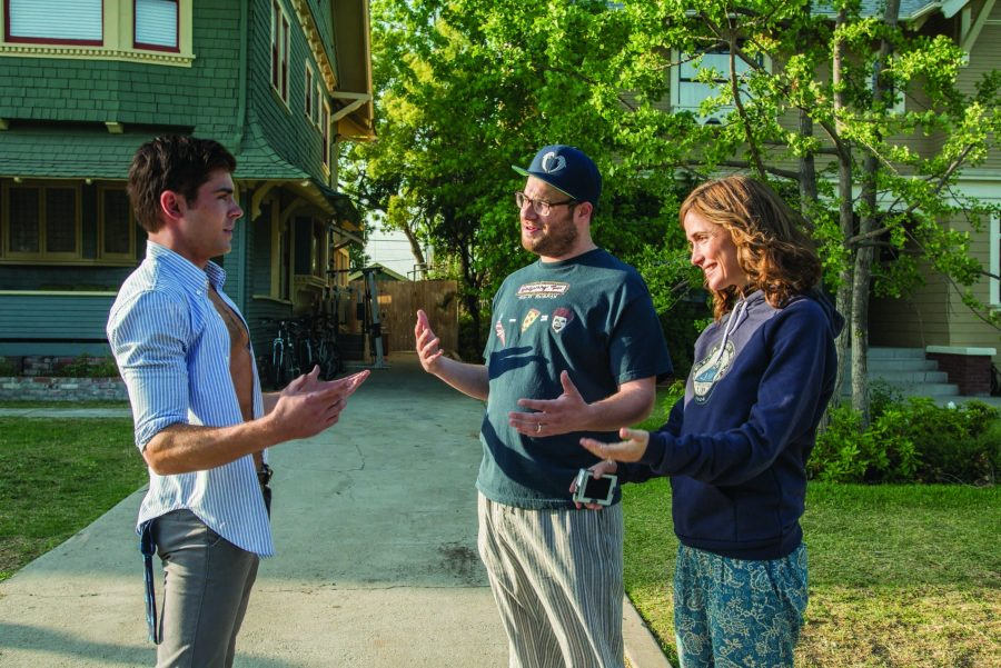 Zac+Efron%2C+from+left%2C+Seth+Rogen+and+Rose+Byrne+star+in+%22Neighbors.