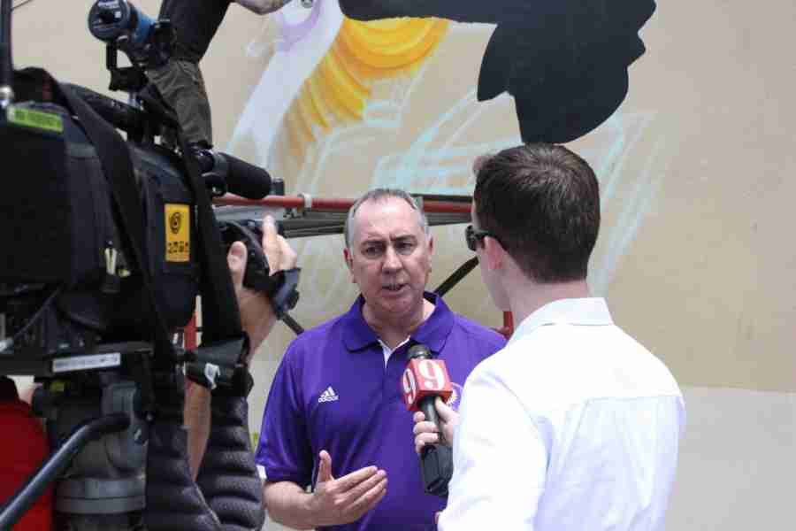 Team president Phil Rawlins said now that the new team logo is launched, the re-branding process can officially begin.