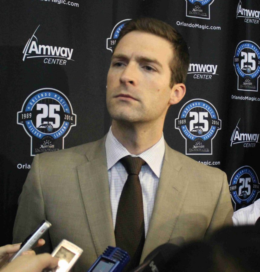 The Magic extended the contract of general manager Rob Hennigan though the 2015-16 season.