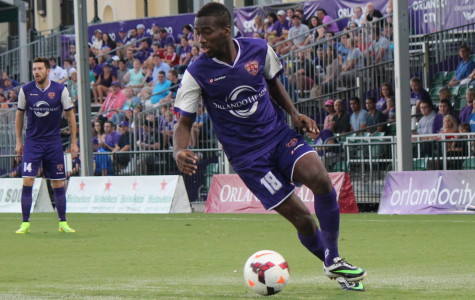 Kevin Molino added to his league leading goal tally on Saturday against the Charleston Battery.