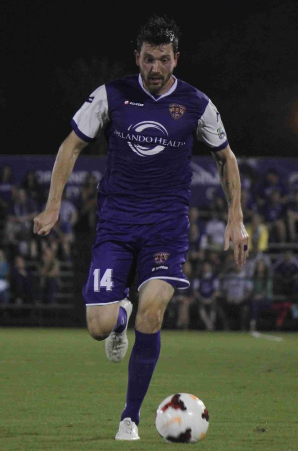 Luke Boden cored the game tying goal in the second half for Orlando City on Saturday.