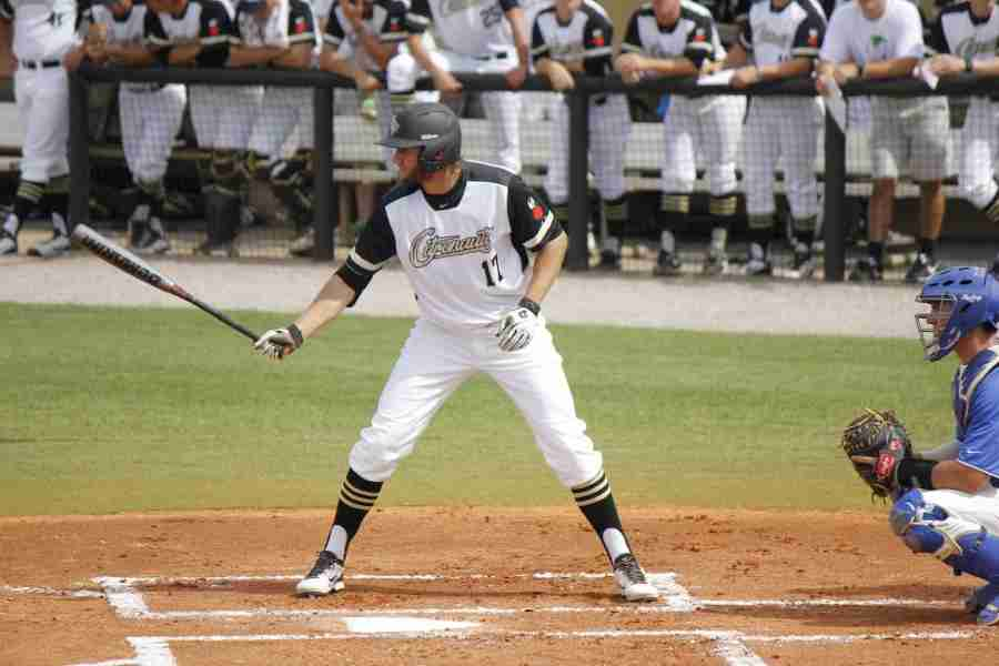 Derrick Salberg went 3-5  with an rbi and a run scored against Presbyterian.