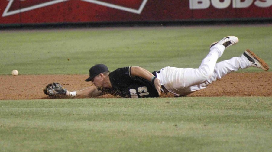 James Vasques went 2 for 4 with two home runs and four RBIs in UCF's loss to Houston.