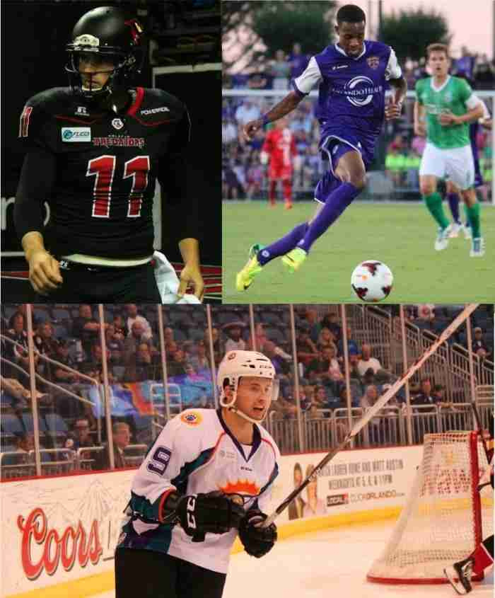 The City of Orlando has three professional sports teams that have made the playoffs, or are in position to make the playoffs this year.