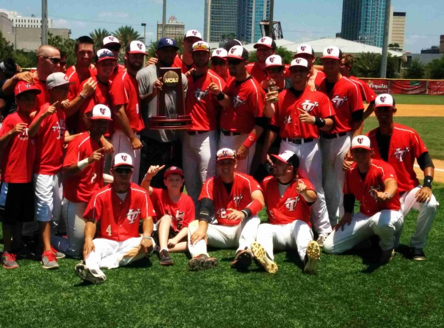 The+University+of+Tampa+Spartans+will+now+go+to+the+D-II+College+World+Series+after+winning+their+regional+championship.