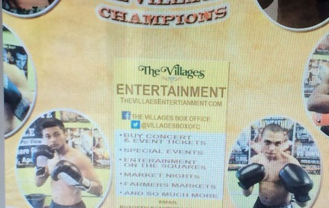 The Villages will be hosting a boxing event for the first time since 1998.