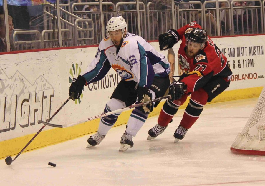 Kory Nagy is one of the many players on the Solar Bears Protected List.