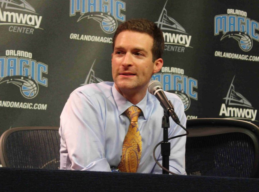 Rob Hennigan and teh Magic selected forward Aaron Gordon with the No. 4 pick in Thursday's NBA Draft.