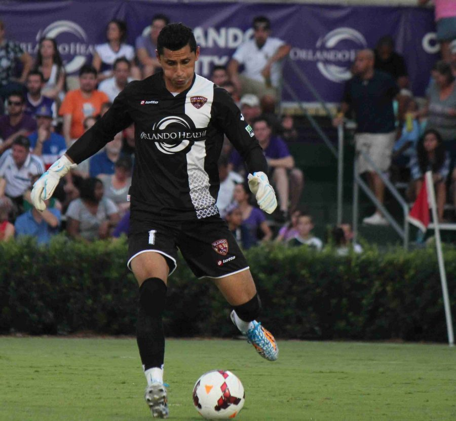 Miguel Gallardo earned his seventh clean sheet of the season on Saturday against the Wilmington Hammerheads.