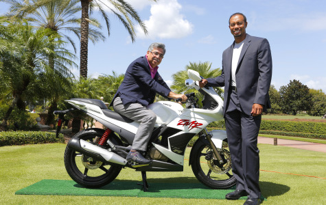 Hero MotoCorp will take over as title sponsor for the World Golf Challenge begining this year.