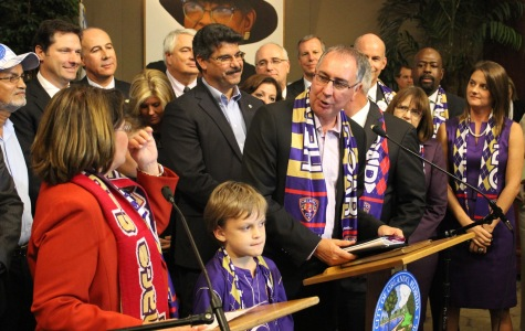 Orlando City will break ground on their new Downtown Soccer Stadium on Thursday, Oct. 16.