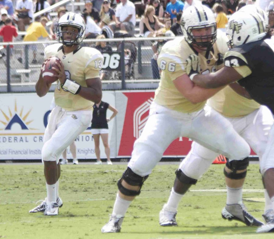 Justin+Holman+will+look+to+lead+the+Knights+to+victory+against+%2320+Missouri+Tigers.