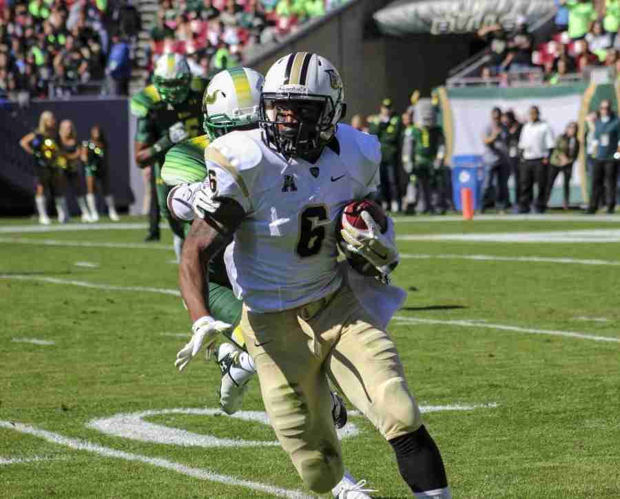 Rannell Hall rushed for 65 yards and had another 19 yards receiving in UCF's 16-0 win over USF.