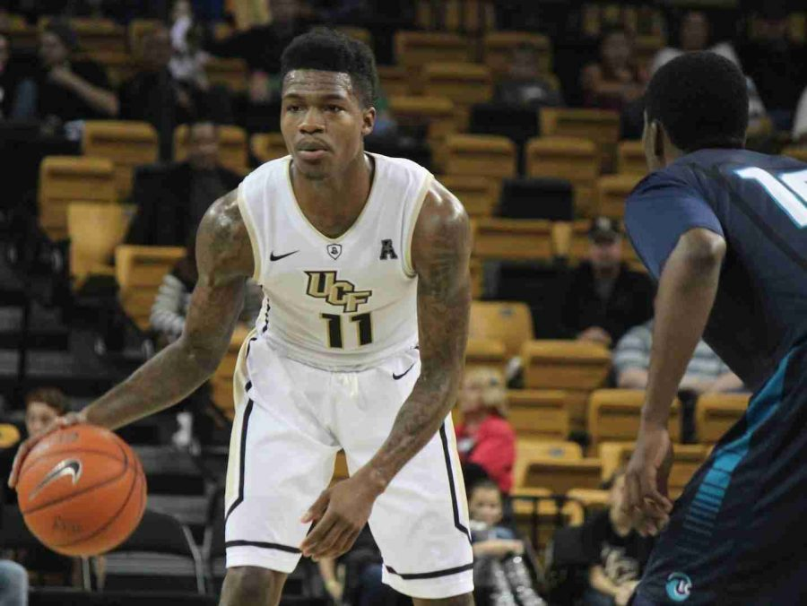 Brandon Goodwin had 10 points, four assists and four rebounds in UCF's win over Eckerd College.