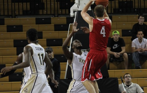 UCF struggles in second half, falls to Davidson Wildcats
