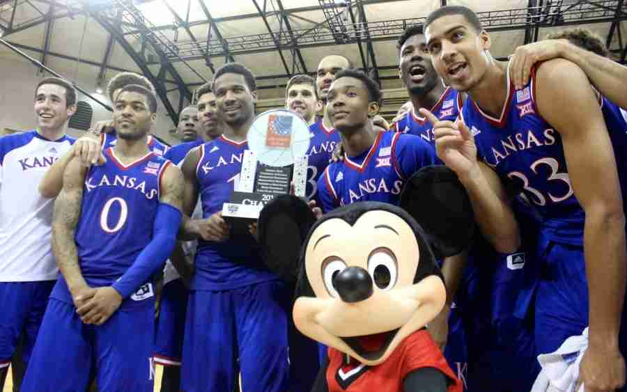 Kansas' win over Michigan State in the Orlando Classic Championship game was the Jayhawks fifth win over the Spartans.