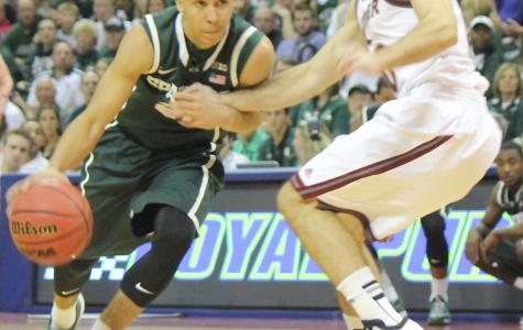 Travis Trice had 10 points, six rebounds and four assists for Michigan State on Thursday.