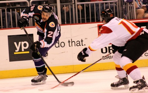 David Broll was +5 for the game in the Solar Bears win over Indy on Monday.