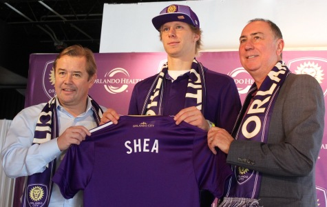Brek Shea (middle) was nominated for the MLS MVP award in 2011and manager Adrian Heath (left) hopes to get him back into form with Orlando City.