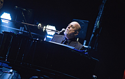 Billy Joel performing on new Year's Eve at Amway Center, in Orlando, Florida on Wednesday, Dec. 31. (Ty Wright / Valencia Voice)