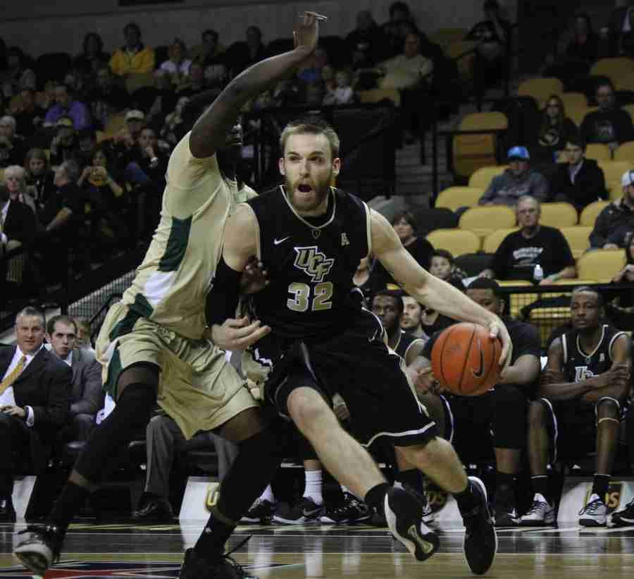 UCF's Kasey Wilson led all scorers with 18 points and added a career-high 11 rebounds in the win over USF.