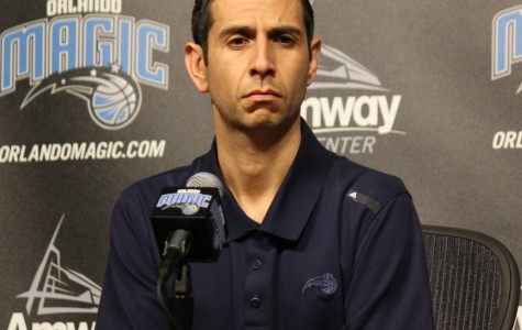 James Borrego was Jacque Vaughn's top assistant during his 2 1/2 years coaching the Magic.
