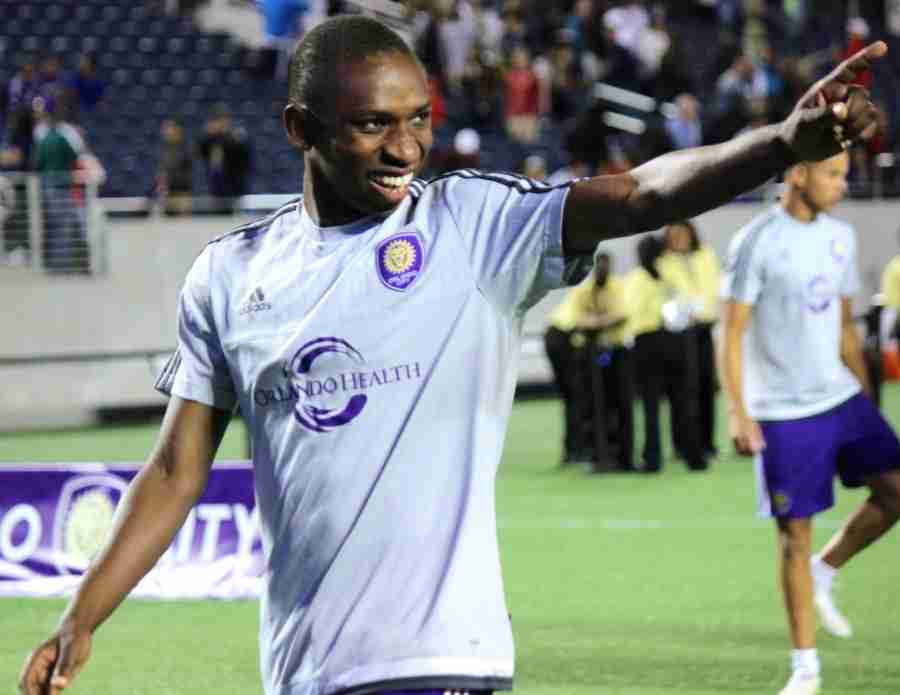 Akeil Barrett was waived by Orlando City SC on Thursday after being selected 25th overall in the MLS SuperDraft in January.