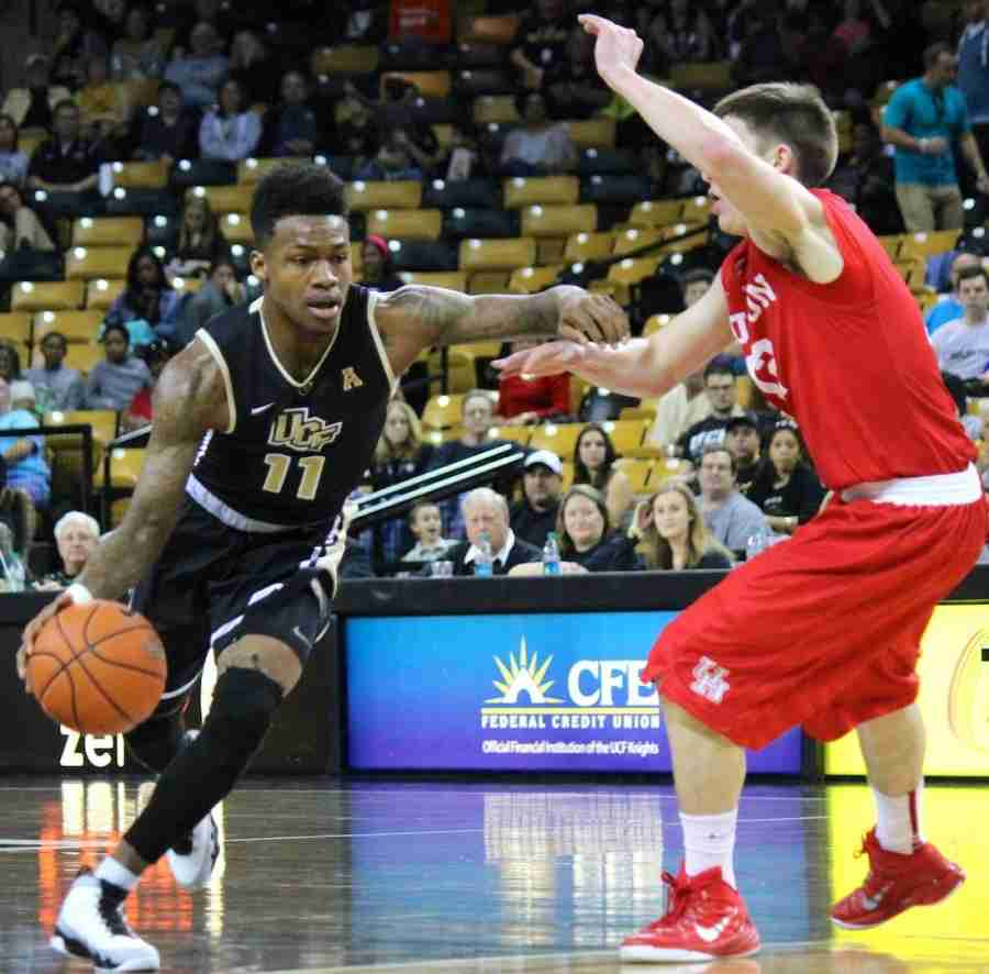 Brandon Goodwin scored 14 points and had seven assists in UCF's win over Houston.