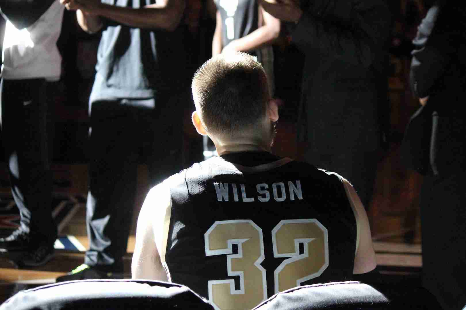 Kasey+Wilson+played+in+his+final+game+at+CFE+Arena+on+Saturday+against+ECU