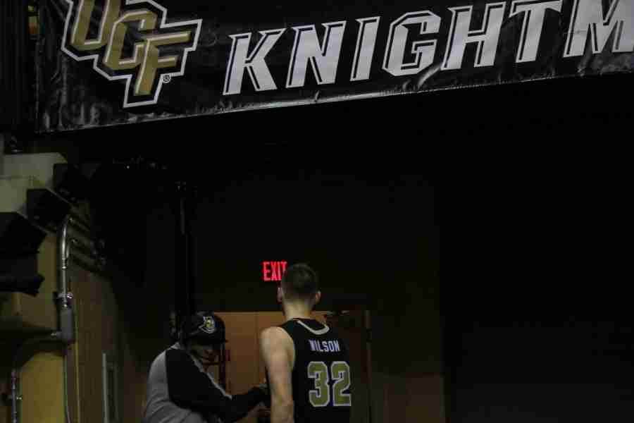 Kasey Wilson's last home game as a UCF Knight was a 71-66 loss to ECU.