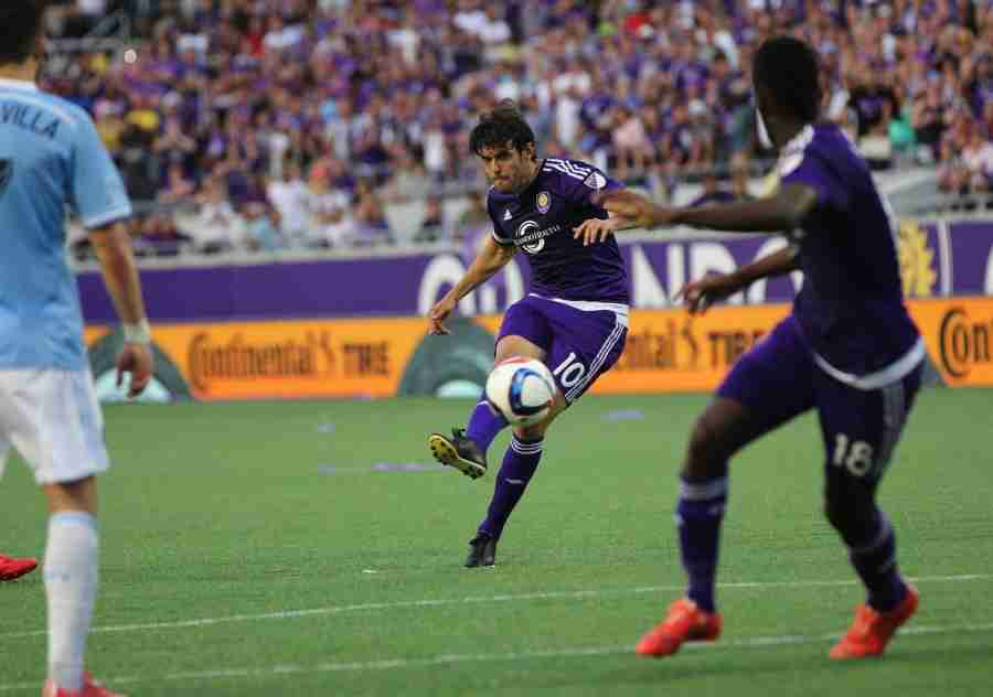 Kak%C3%A1+scored+Orlando+City+SC%27s+first+goal+as+an+MLS+franchise+to+give+the+Lions+a+1-1+draw+against+New+York+City+FC.