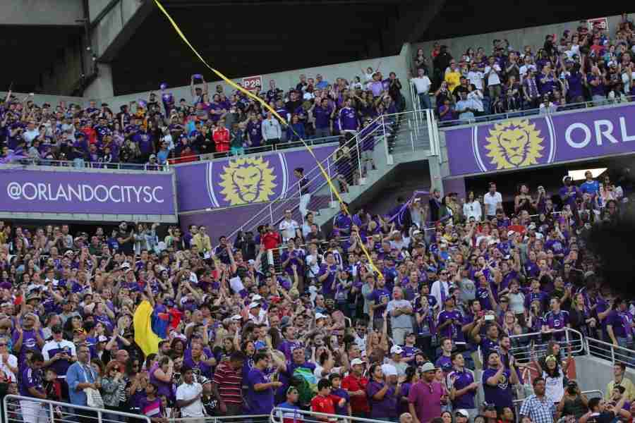 Orlando CIty SC filled the Orlando Citrus Bowl for their inaugural MLS game back in March.