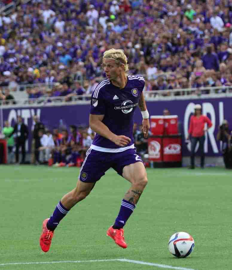Orlando City SC held 62.6 percent of possession against Vancouver in the 1-0 loss.