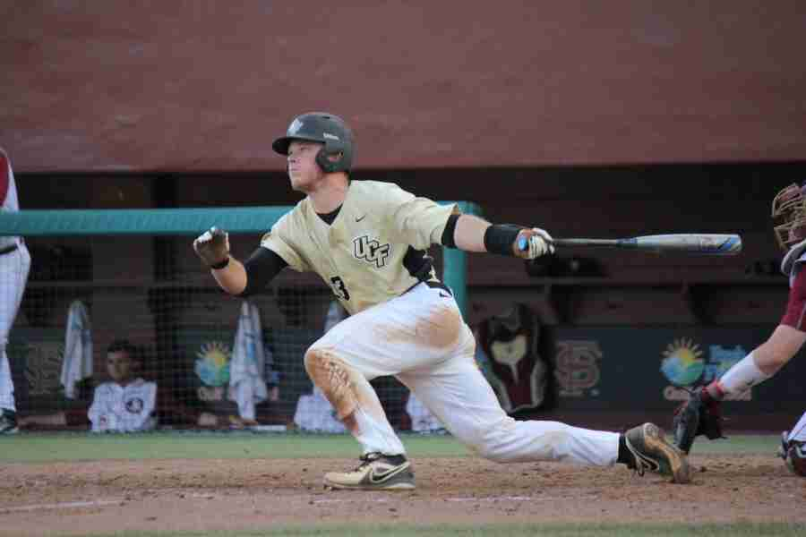 Logan Heiser went 4-5 with two home runs and was a single shy of the cycle for UCF.