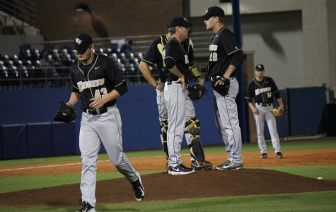UCF used six different pitchers on Wednesday against the Gators.