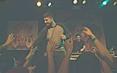 Aesop Rock performing at the