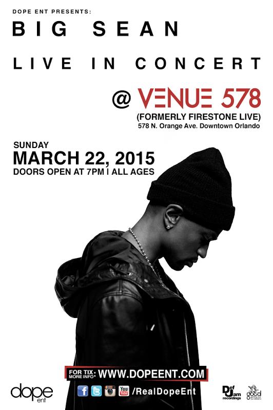 Big+Sean%27s+%27Dark+Sky+Paradise%27+tour+headed+to+Venue+578