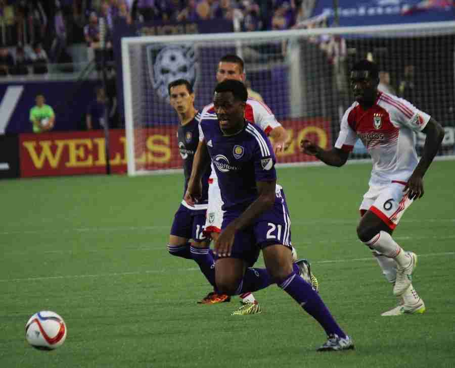 Cyle Larin could get the start at forward for Orlando City on Sunday against Portland.