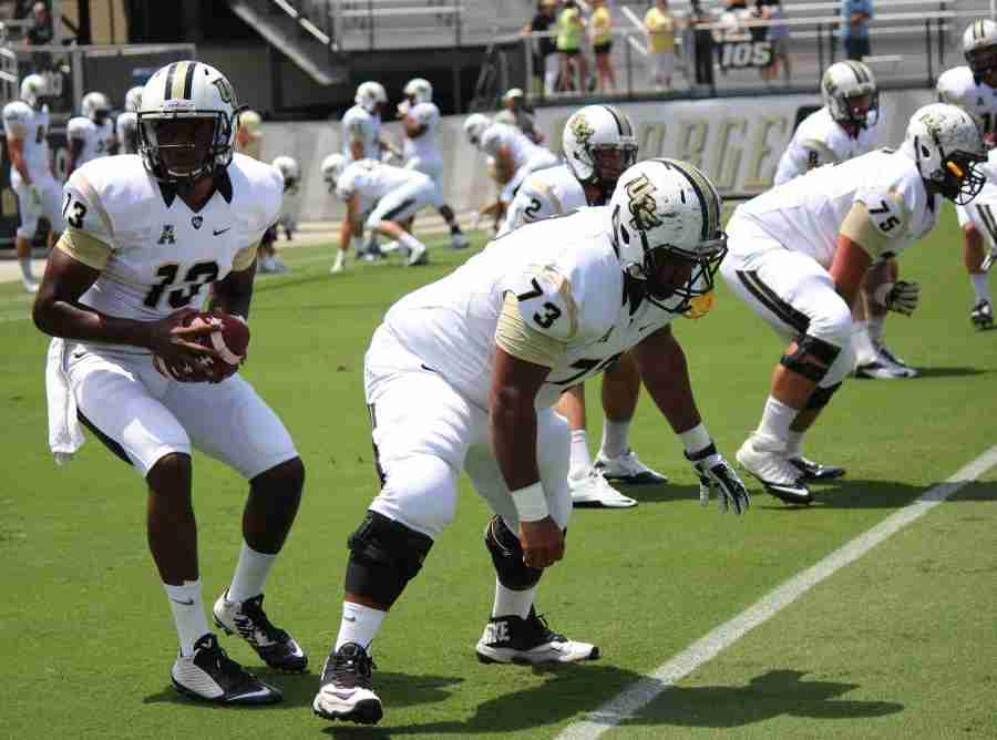 Justin Holman is expected to be the starting quarterback for UCF come the Fall.